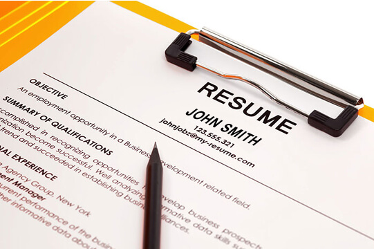 each resume session includes