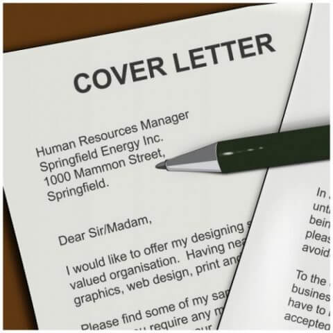 Professional Cover Letter Writer NJ